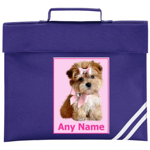 Puppy Book Bag